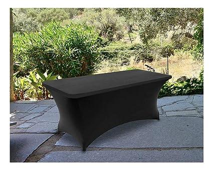 Amazon com: Tablecloth Rectangular Stretch 6ft Spandex Tight