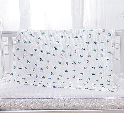 Paños de muselina Toallas de baño de algodón para bebé recién nacido, Toalla de bebé de algodón orgánico para piel de bebé, Absorción fuerte y suave, ...