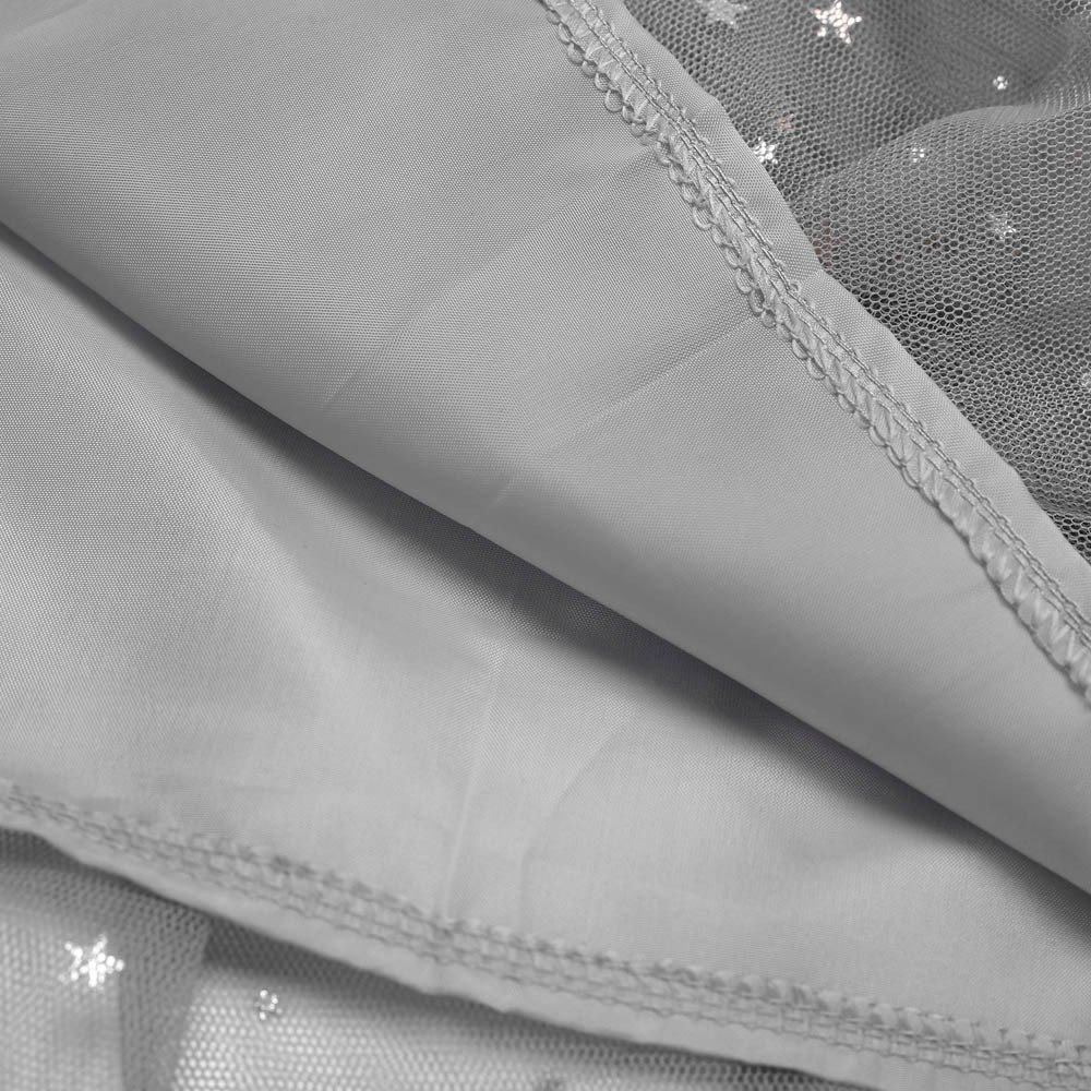 feiXIANG Ropa Infantil Niña Princesa Vestido Estrella Lentejuelas Princesa Tutu Fiesta de la Moda Falda de Baile Tutu Disfraces Negro Cinco Cyber Lunes: ...