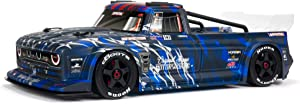 ARRMA 1/7 Infraction 6S BLX V2 All-Road RC Truck RTR (Transmitter and Receiver Included, Batteries and Charger Required),Blue, ARA7615V2T1