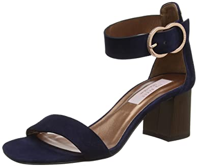 af3d92bf2acb TED BAKER WOMENS QARVA ANKLE STRAP SANDALS  Amazon.co.uk  Shoes   Bags