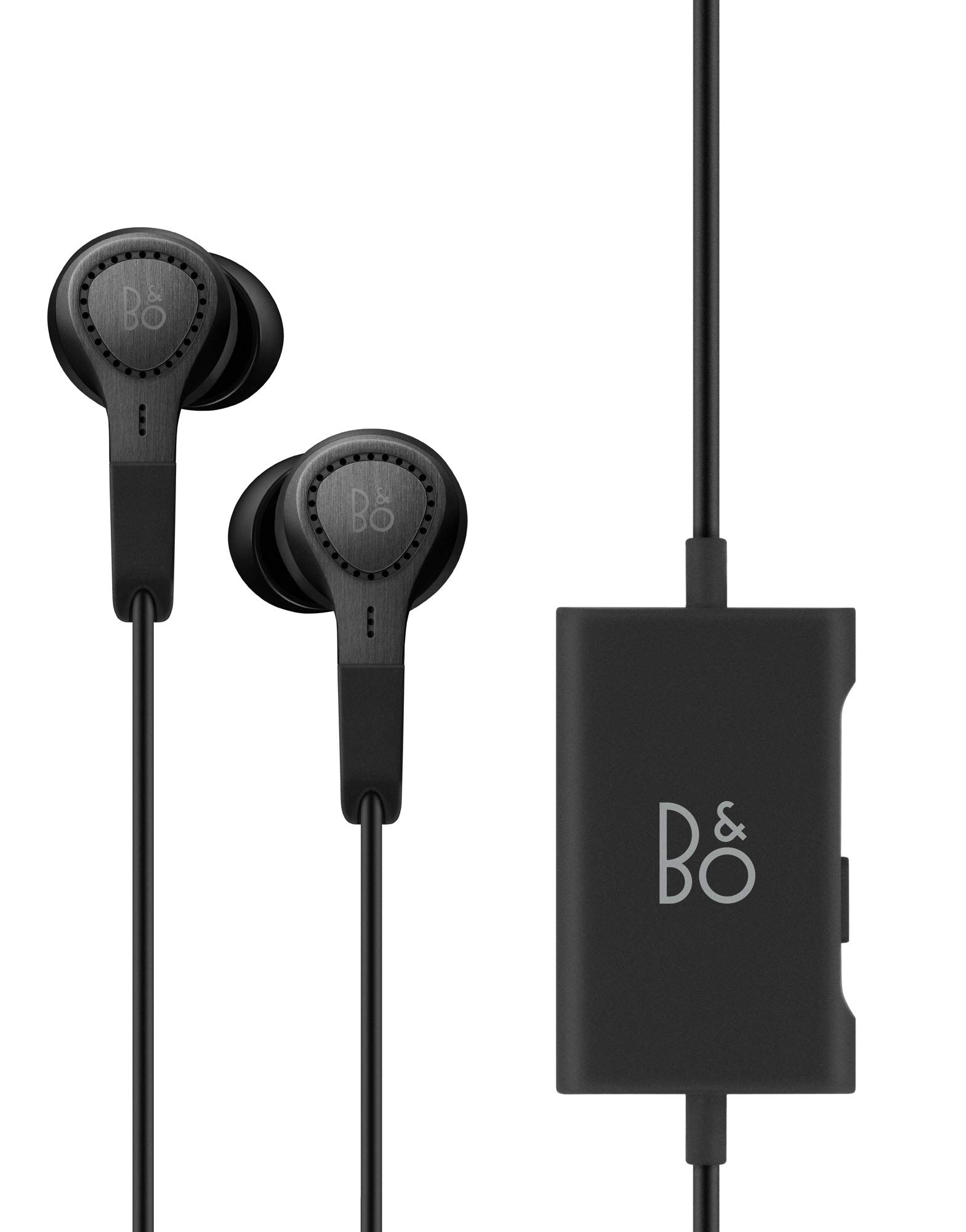 Bang & Olufsen Beoplay E4 Advanced Active Noise Cancelling Earphones – Black - 1644526