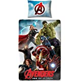Marvel Character World Disney Avengers Age of Ultron Parure de lit simple Housse de couette