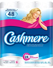 Cashmere Double Roll Bathroom Tissue, 2-ply, 253 Sheets per Roll - 24 Rolls
