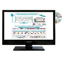 télévision TV HD + DVD 19.5' + démo satellite FRANSAT camping car 12v / 220v