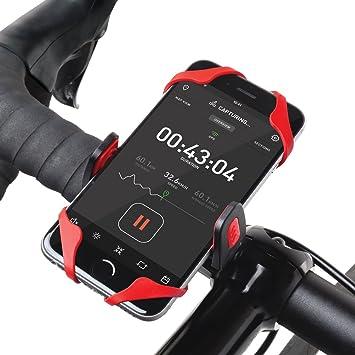Osomount OS1400 - Soporte de bicicleta para Smartphone, rojo y negro: Amazon.es: Electrónica
