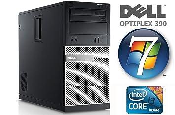 Dell OptiPlex 390 MT - Intel Core i3 2120 / 3 30GHz - 4GB DDR3 1333MHz  Memory - 250GB Hard Drive - DVD ReWriter/MultiRecorder - Microsoft Windows  7