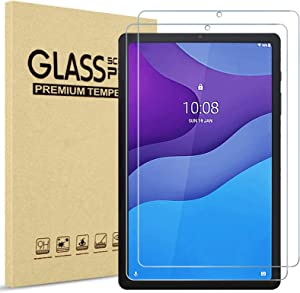 [2 Pack] ProCase Screen Protector for Lenovo Tab M10 HD 2nd Gen (TB-X306X) / Smart Tab M10 HD 2nd Gen (TB-X306F) 10.1 Inch 2020 Release, Tempered Glass Screen Film Guard Screen Protector –Clear