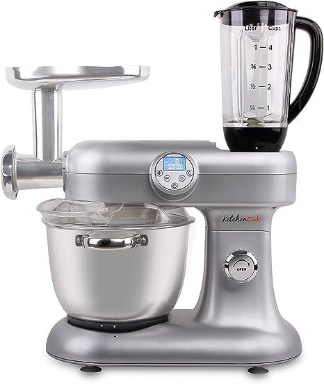 Harper REVOLUTION V2 SILVER - Robot de cocina, 1000 W, color gris ...