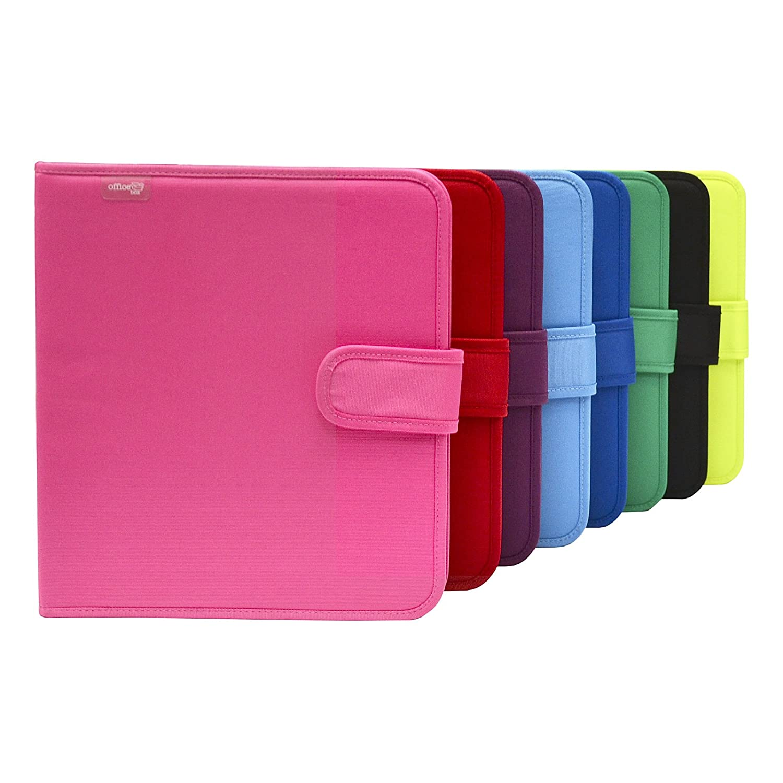 Colorline 43311 - Pack Carpeta de 4 Anillas y Porta Todo Integrado, Super Carpeta & Go, Todo en Uno para Material Escolar. Color Negro, Medidas 34 x 29 x 6 ...