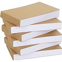 Belle Vous Kraft Blank Hobby Flip Book (6 Pack) – 11,5 x 6,5 cm – 180 Pagina's (90 Vellen) Geen Uit Bloedend Schets…