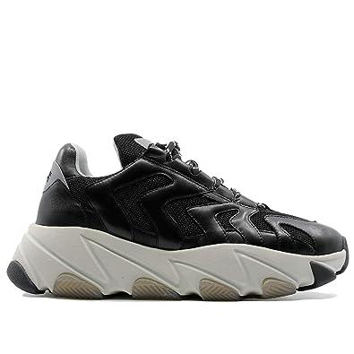 Ash Scarpe Sneakers Uomo Running Nero EAGLE07 BLACKSILVER
