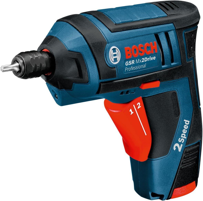 Bosch Professional Atornillador a batería (2 baterías, cargador, maletín de transporte, asidero, 3.6 V, 1.3 Ah) + Bosch Home and Garden Bosch 031-Tuerca de sujeción rápida-(Pack de 1), Plata: Amazon.es: Bricolaje y herramientas