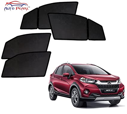 Auto Pearl Magnetic Sun Shade Curtain For Honda Wrv Pack Of 4