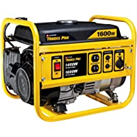 Trades Pro 1400/1600 Watt Gasoline Portable Generator (Yellow)