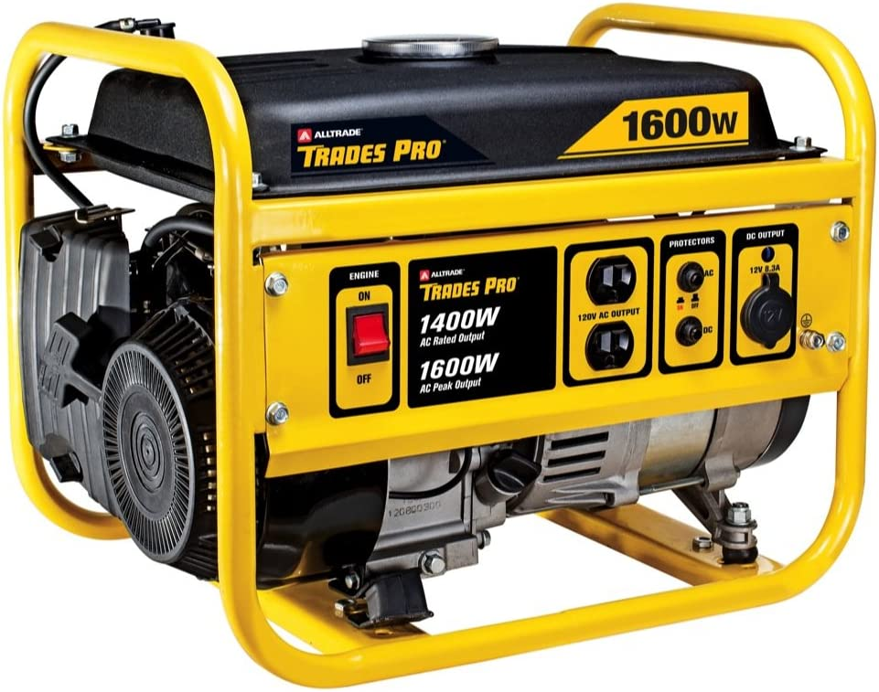 Tradespro – 1400W 1600W Gas Generator, Generators, Gasoline Powered Generators, 838016