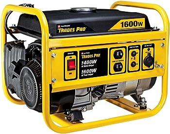 Trades Pro 1400/1600 Watt Gasoline Portable Generator