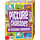 Outset Media Picture Charades for Kids - No Reading Required! - An Imaginative Twist on a Classic Game Now for Young Children by