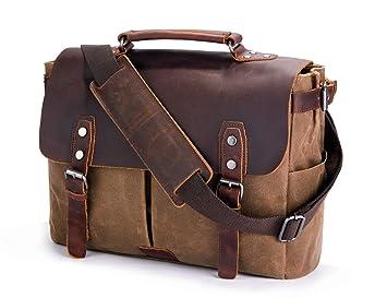 Amazon.com  Mens Messenger Bag 1ed6db637e6bb
