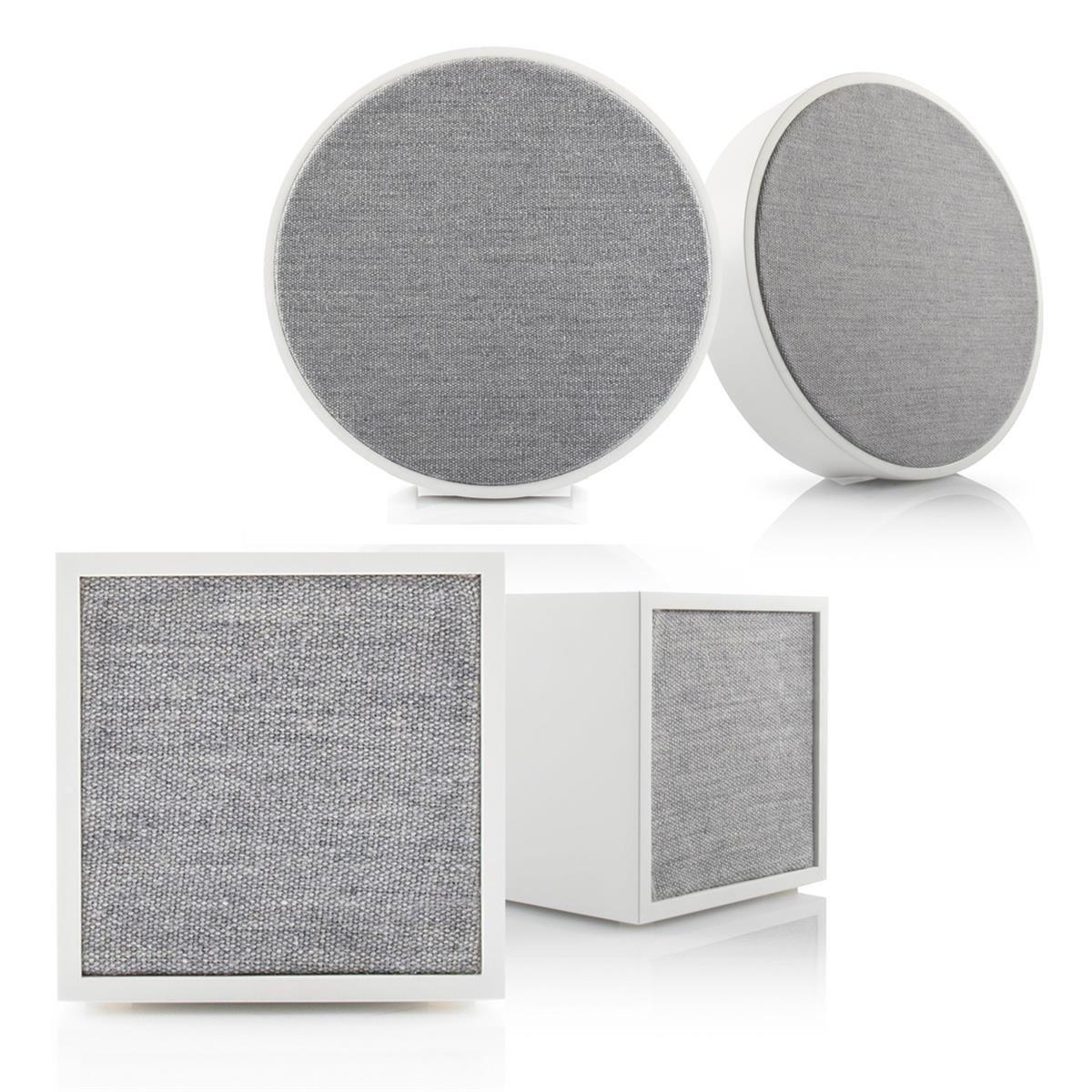 Tivoli Audio ART and CUBE Wireless Hi-Fi Music System - 4-Pack (White)