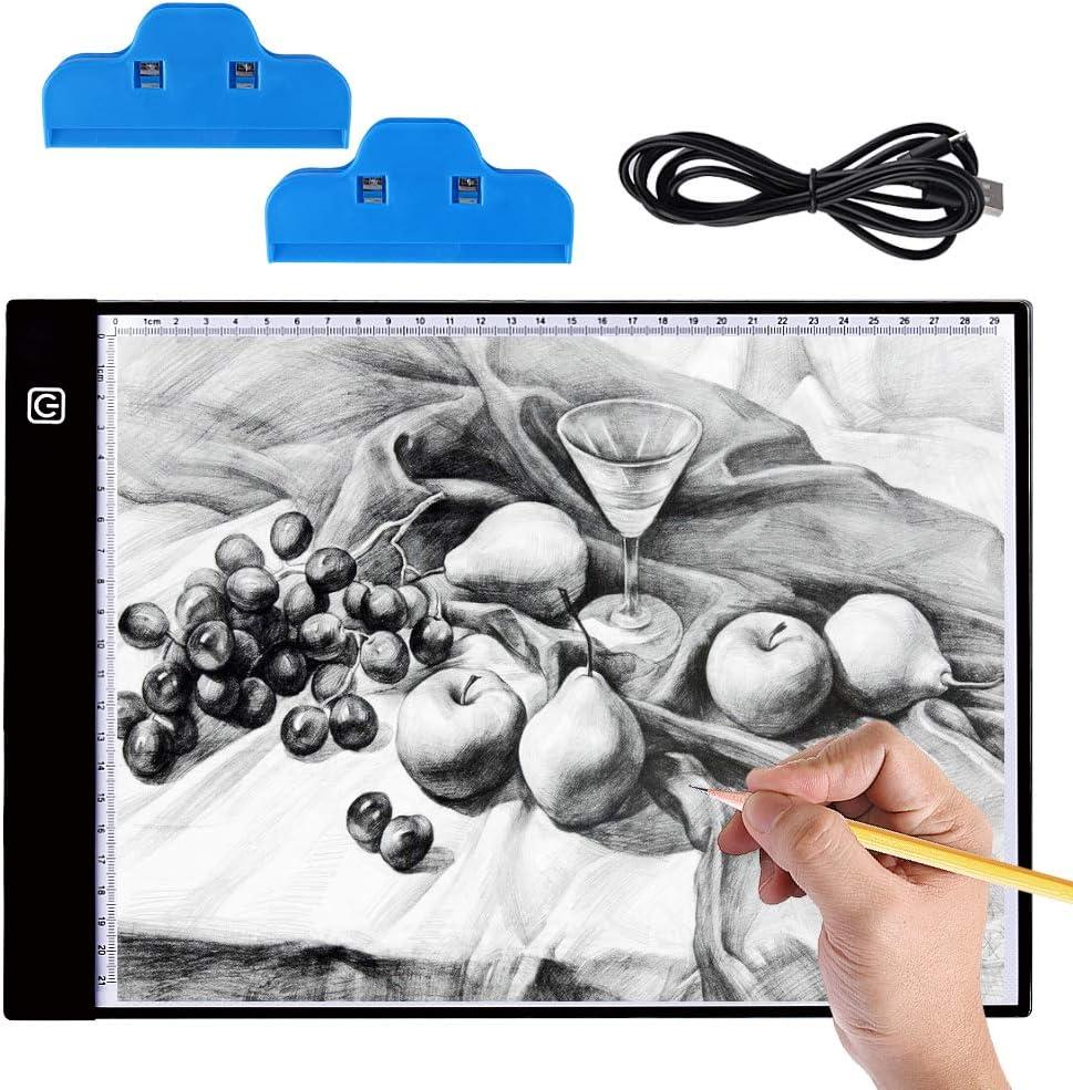 Mesa de Luz Dibujo A4, Hisome Ultrathin 3.5mm A4 USB LED Tablet ...