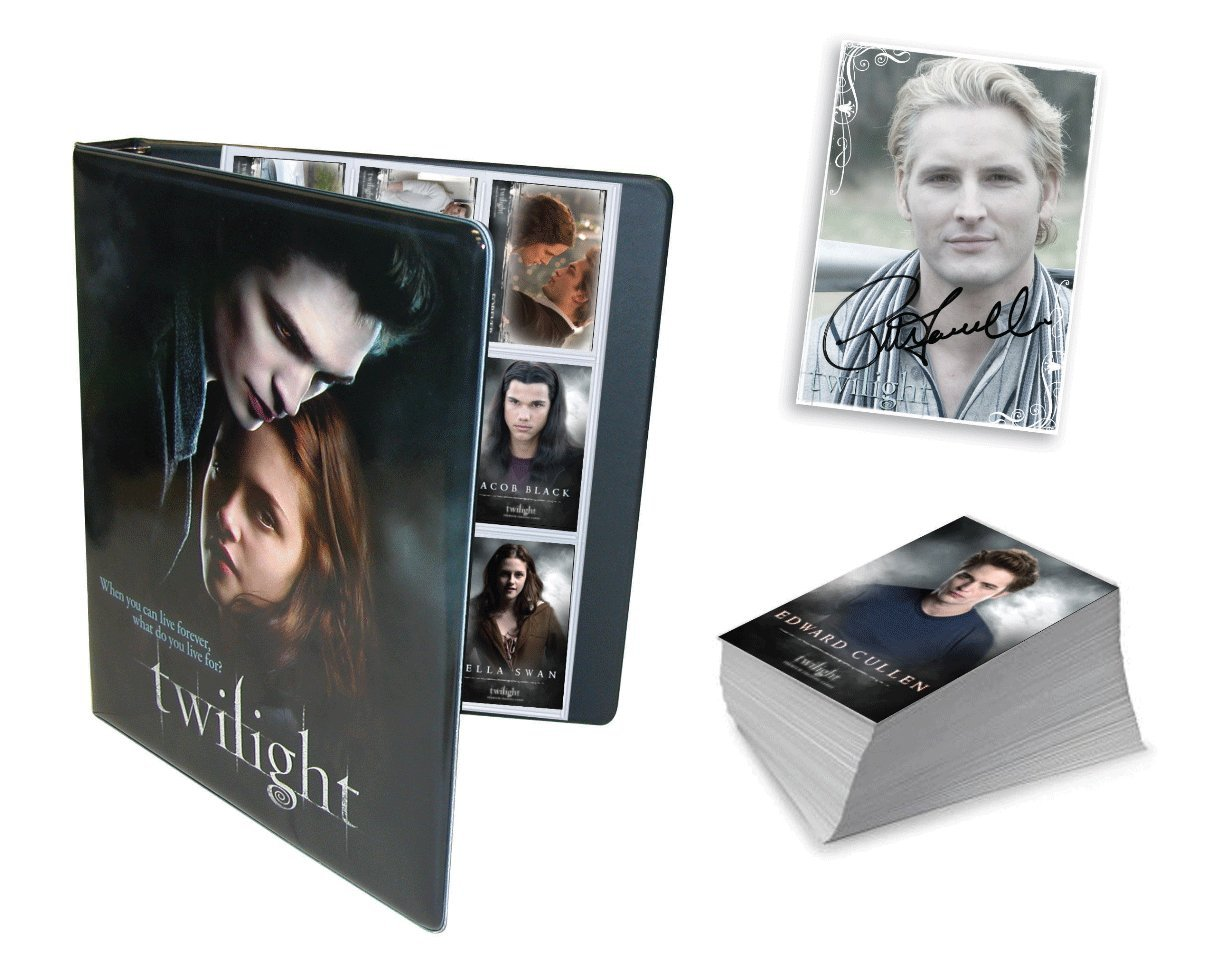 NECA Amazon Exclusive! Twilight Limited Edition Trading Card Set w/ Official Binder