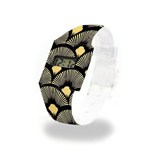 Black Series - oro Vintage cartón Watch/Paper Watch/Reloj de pulsera digital de Tyvek®, Absolutamente resistente y agua: Amazon.es: Relojes