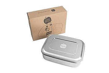 Outdoor Küche Edelstahl Xxl : Brotzeit xxl lunchbox unterteilung aus edelstahl bpa frei