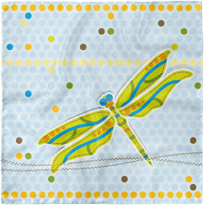 Kids Cartoon Theme Ambesonne Dragonfly Headscarf Hijab Scarf