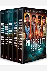 The Prof Croft Series: Books 0-4 (Prof Croft Box Sets Book 1) Kindle Edition