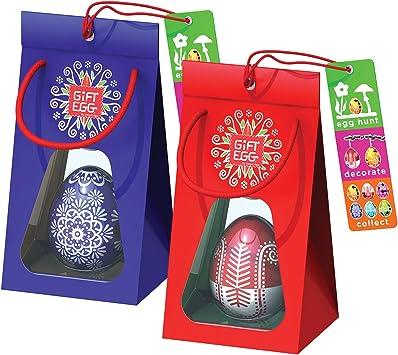Par de Huevos de Pascua: Rompecabezas de laberinto en 3D, juguetes ...