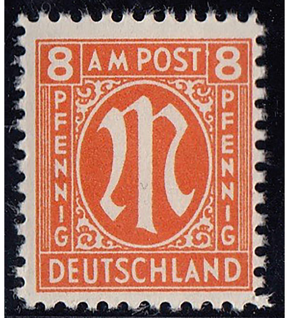 Goldhahn Alliierte Alliierte Alliierte Besetzung Nr. 21 I-VII postfrisch  Plattenfehler Briefmarken für Sammler e1410e