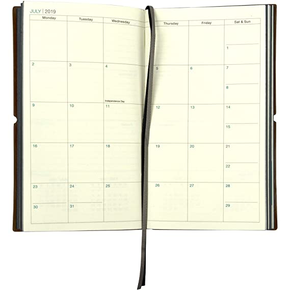 Amazon.com: 2019 Planificador / Calendario de bolsillo: 14 ...