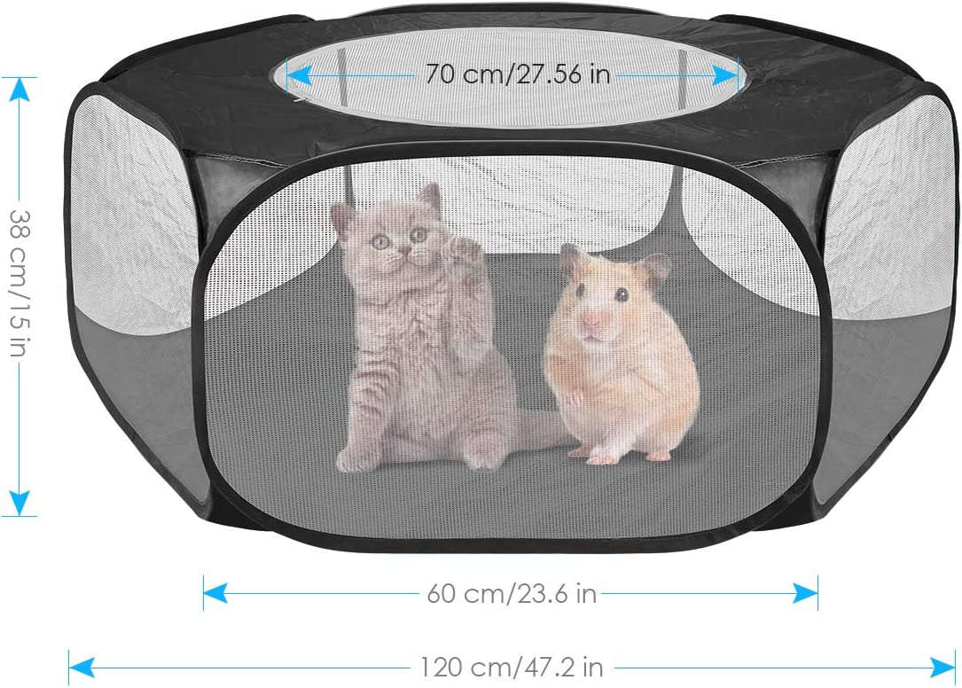 Petyoung Upgraded 47.2 Small Animals Cage Tent