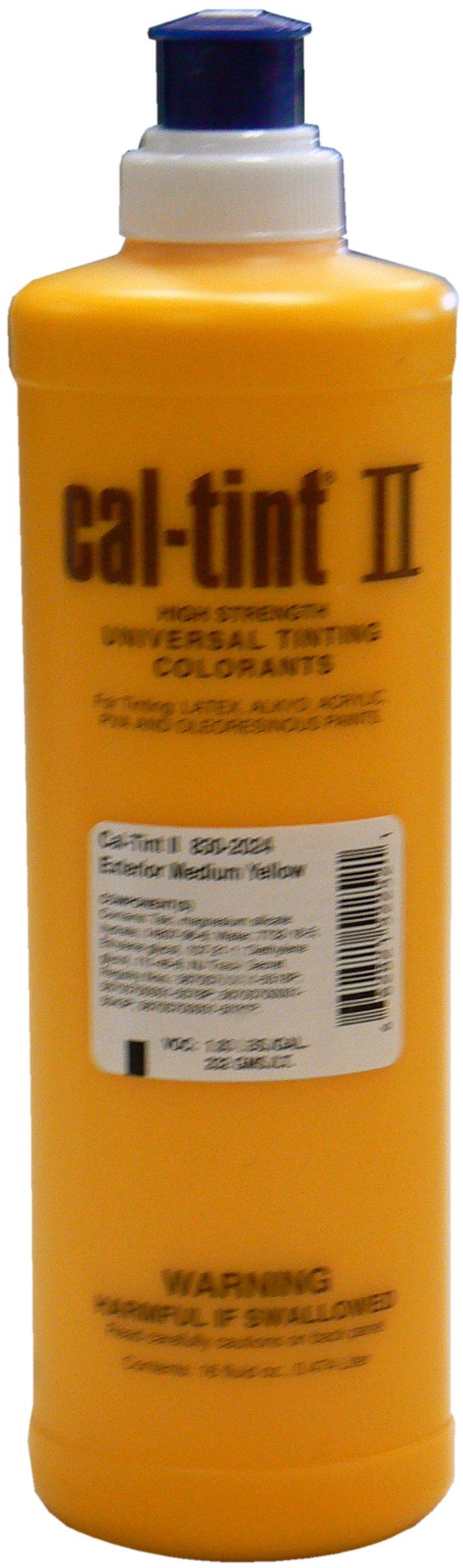 Chromaflo 830-2024 Cal-Tint II 16-Ounce Colorants, Medium Yellow