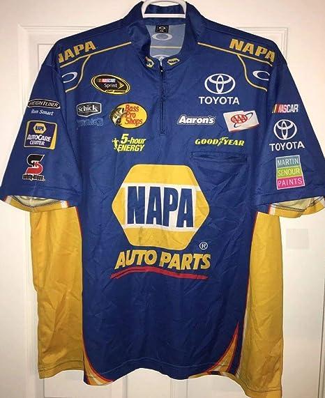 2XL Oakley Racing Martin Truex Jr Napa Pit Crew Shirt Nascar