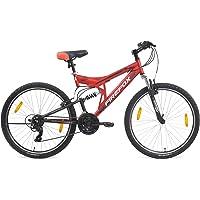 Firefox Bikes Tank 26T 21 Speed Mountain Cycle (Matte Red/Black)