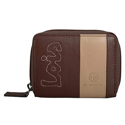 LOIS - 28410 Monedero DE Piel, Color Marron