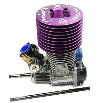 Rex Legend 28 Truggy 8-Port Roto Start Engine Turbo Plug (Steel Bearings)