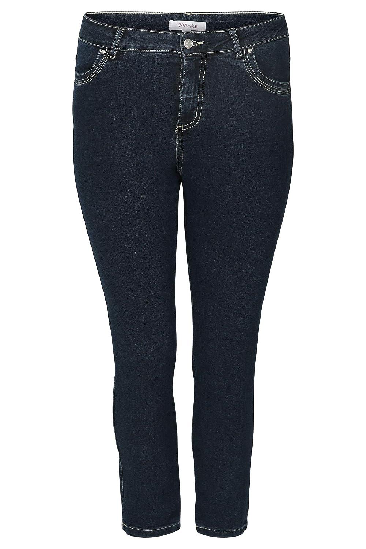 PAPRIKA Damen große Größen Slim Fit Jeans in 78 Länge