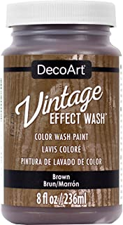 product image for DecoArt Vintage Effect Wash 8oz, Brown