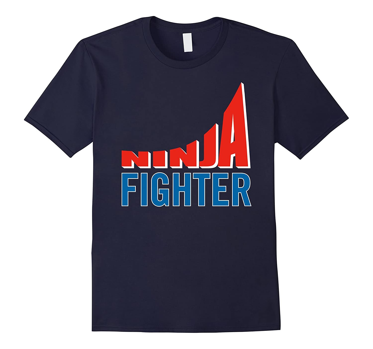 Ninja Fighter Warrior Fitness Shirt-Art