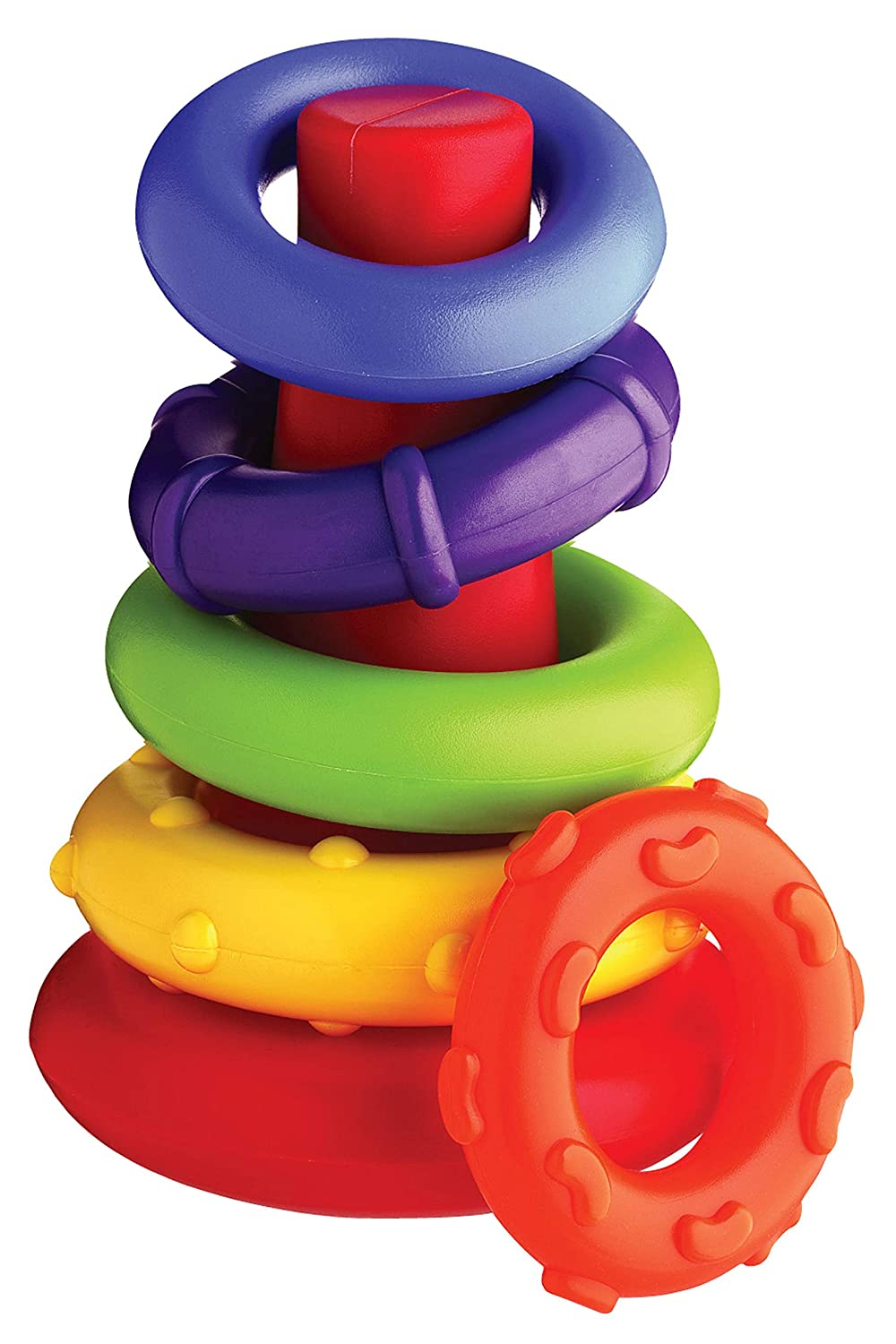 Playgro Baby Toy 4011455107 Sort & Stack Tower for Baby Infant Toddler Children, Multicolor
