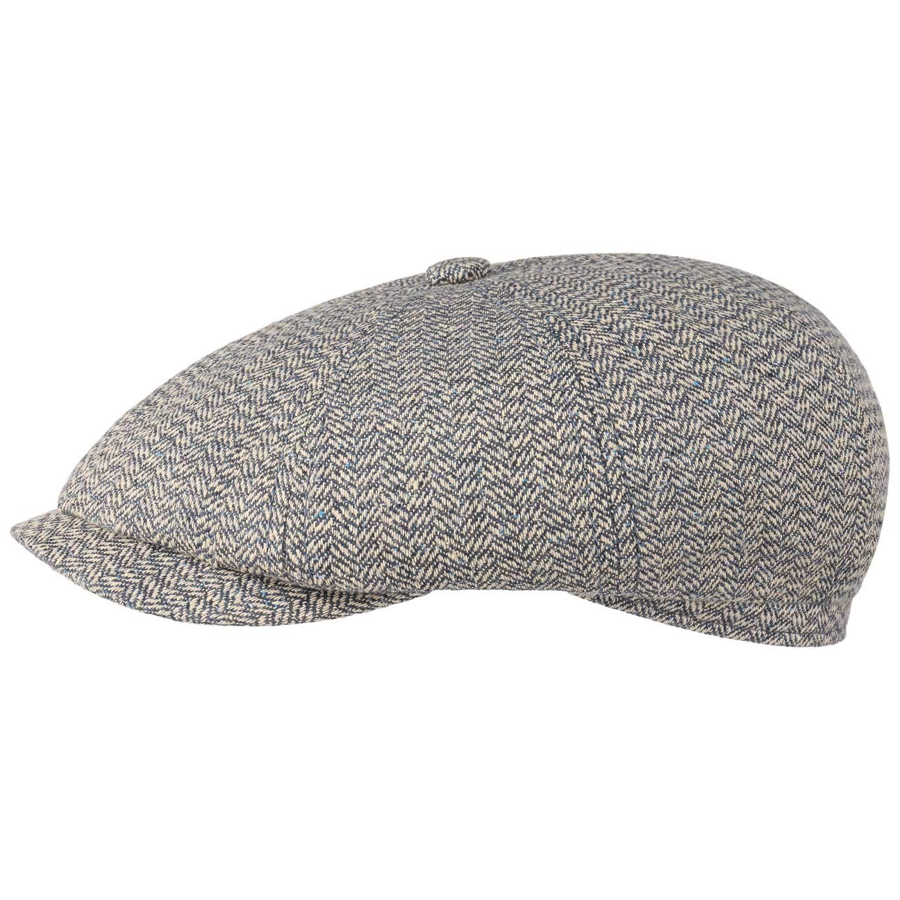 aba95c483da Stetson Hatteras Heritage Silk Wool Flat Cap Newsboy  Amazon.co.uk  Clothing