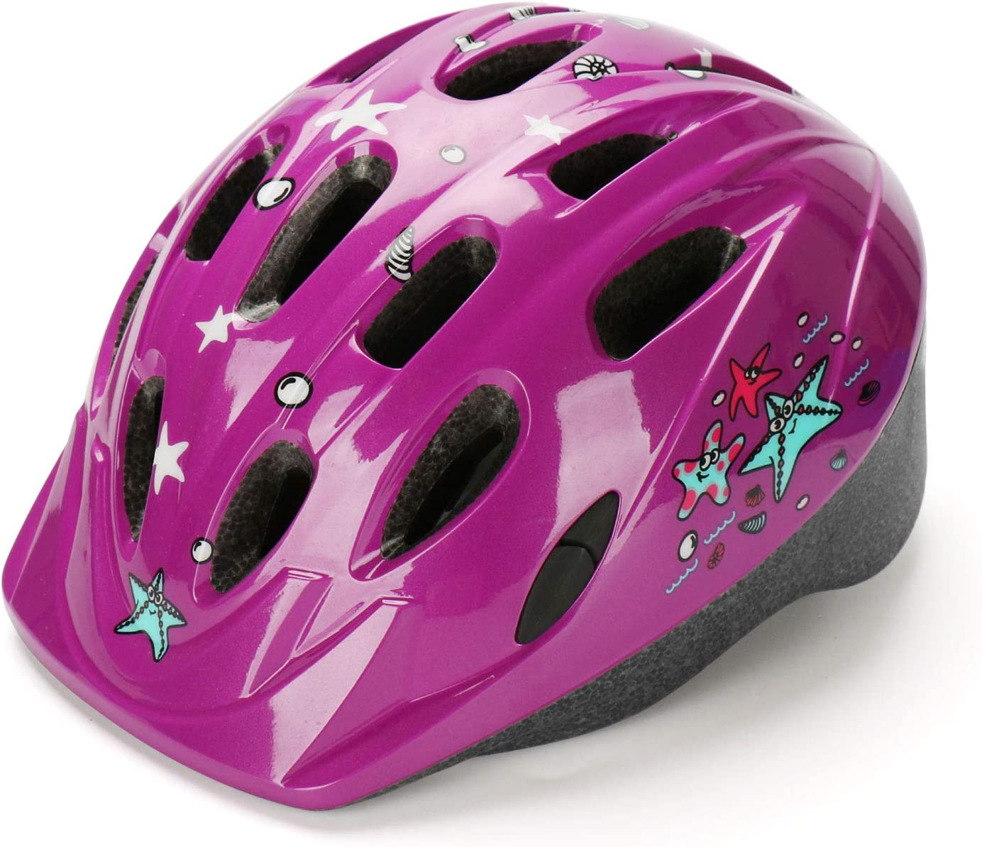 AGH Kids Bike Helmet,Adjustable for Toddler Kids Ages 3-7 Boys Girls,Multi-Sport Safety Cycling Skating Scooter Helmets with Fun Designs,CPSC Certified