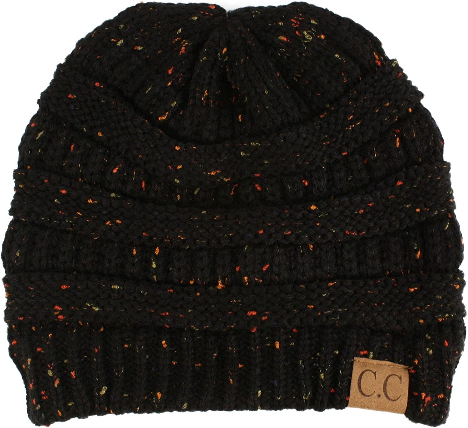 Winter Trendy Soft Cable Knit Stretchy Warm Ribbed Beanie Skully Ski Hat Cap