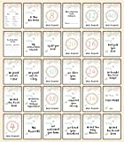 30 Pregnancy Milestone Cards - Shabby Chic Floral