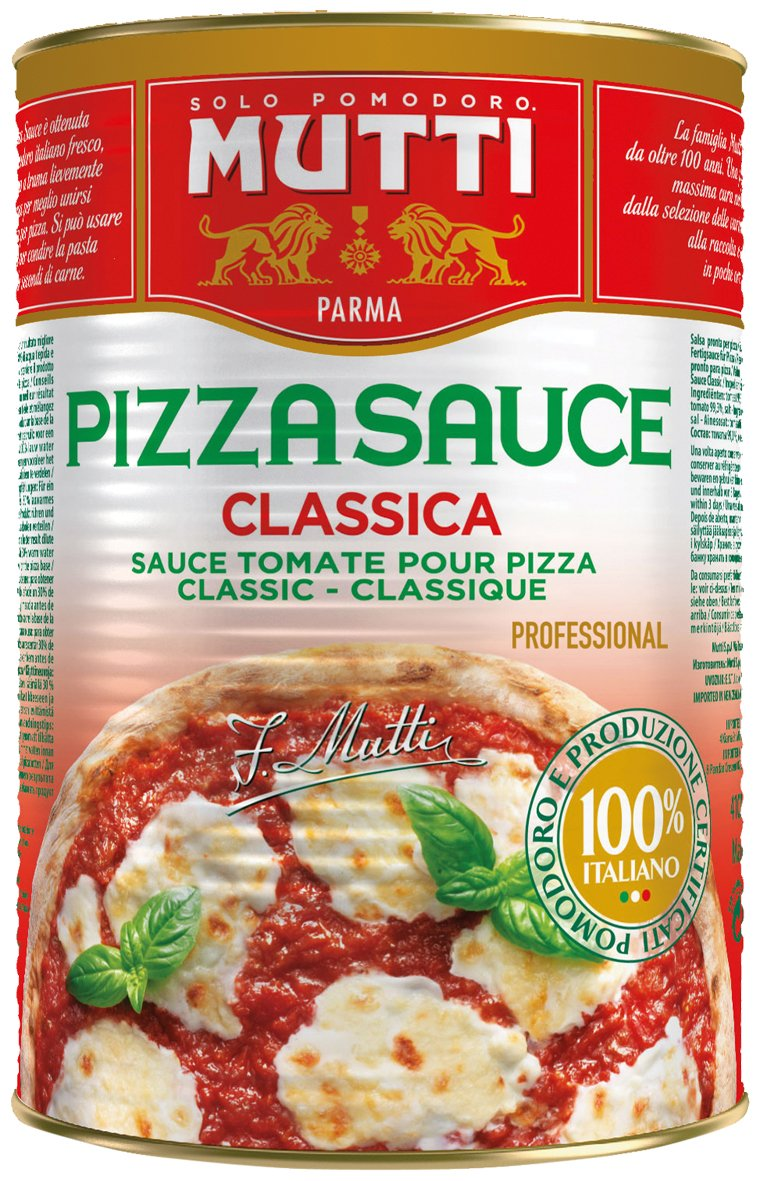 Mutti Pizza Sauce Classic Ungewurzt 1er Pack 1 X 4 2 Kg Amazon De Lebensmittel Getranke