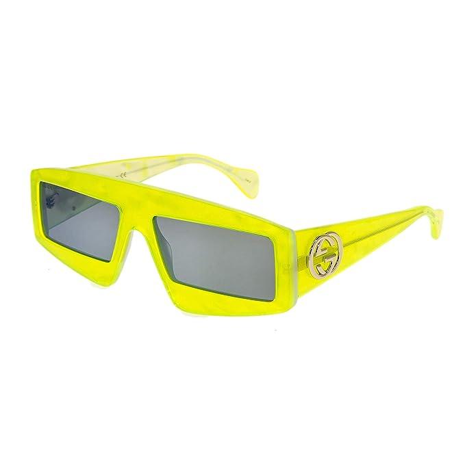 Gucci - Gafas de sol para mujer GG0358S 003 amarillas ...
