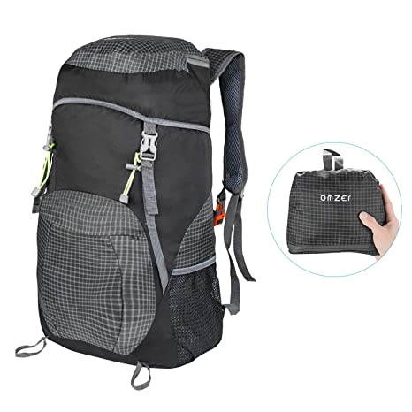 Amazon.com   OMZER Lightweight Packable Backpack Daypack cac586fe34904